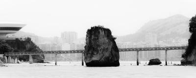 Island of Boa Viagem in the city of Niteroi. State of Rio de Janeiro, Brazil Stock Photos