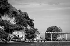 Island of Boa Viagem in the city of Niteroi Stock Images