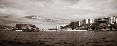 Island of Boa Viagem in the city of Niteroi Stock Photography