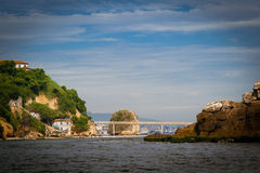 Island of Boa Viagem in the city of Niteroi Stock Photos