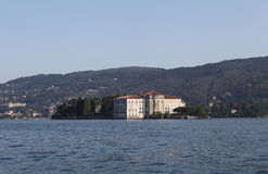 Island Borromeo - Isola Bella. Royalty Free Stock Photo
