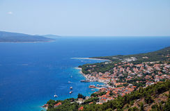 The island of Brac in Croatia Stock Image