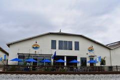 Island Brewing Company Carpinteria Californië stock foto