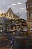 Island: Buchhandlung in Akureyri lizenzfreie stockbilder