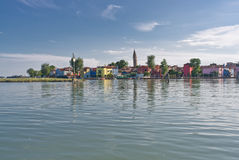 Island of Burano Royalty Free Stock Photo