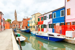 The island of Burano. Italy Royalty Free Stock Photos