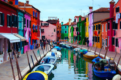 Island of Burano/Venice Stock Photography