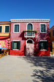 The island of Burano, Venice, Italy Royalty Free Stock Images