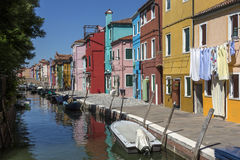 Island of Burano - Venice - Italy Royalty Free Stock Photo