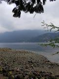 Island camp Stock Image
