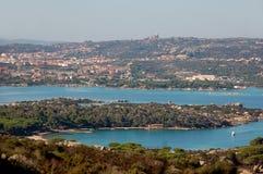 The island of Caprera and Maddalena Royalty Free Stock Photo