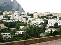 Island of Capri. A summer day on Capri island with a beautiful view Stock Photography