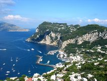 Island of Capri. Summer day on Capri island Stock Photo
