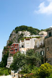 Island of Capri. Summer day on Capri island royalty free stock photography