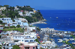 Island of Capri, Italy Stock Photos
