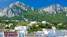 Island of Capri, Italy Royalty Free Stock Images