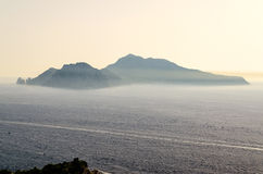 Island of Capri, Italy Stock Photography