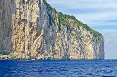 Island of Capri, Mediterranean Sea, Italy Royalty Free Stock Photos
