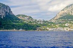Island of Capri, Mediterranean Sea, Italy Stock Photos