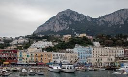 The Island of Capri stock photo