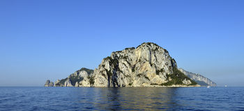 The island of capri Royalty Free Stock Image