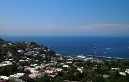 Island of Capri Stock Image