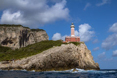 Island of Capri. Summer day on Capri island stock images