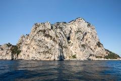 The Island of Capri Royalty Free Stock Photography
