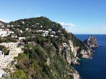 Island of Capri Stock Photos