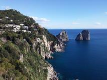 Island of Capri Royalty Free Stock Photos