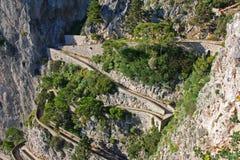 Island of Capri Royalty Free Stock Images