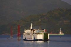Island Car Ferry Stock Photos