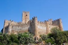 Island Castle in Europe Stock Photos