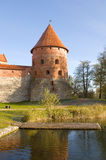 Island castle in Trakai Stock Image