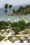 The Island of Cayo Levantado Stock Photo