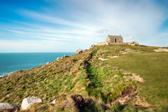 The Island Chapel in St Ives Stock Photos