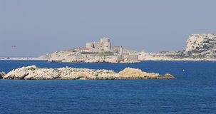 Island Chateau dIf at Marseille in France Stock Photography