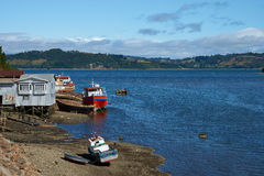 Island of Chiloé Stock Image