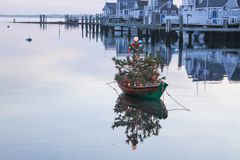 Nantucket Island Christmas Royalty Free Stock Photo