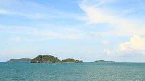 Island on Chumphon Sea, Thailand stock video footage