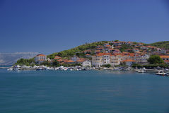 Island Ciovo, Croatia Royalty Free Stock Photography