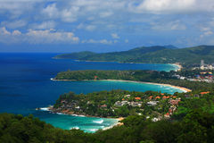 Island with clear blue sky Phuket Royalty Free Stock Photo
