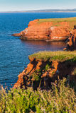 Island Cliffs Stock Photography