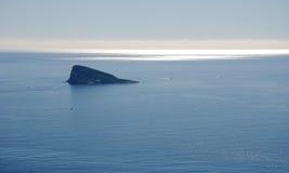 Island close to Benidorm Stock Photo