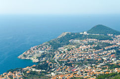 An island closed to Dubrovnik stock images