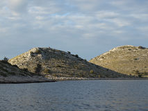 Island coast Royalty Free Stock Images