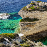 Island Coast, Limestone Cliffs Stock Photo