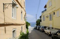 Island Corfu Royalty Free Stock Photo