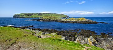Island Cregneash Stock Photos