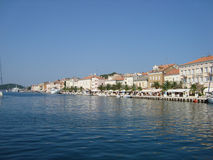 Island Cres in Adriatic see Stock Image